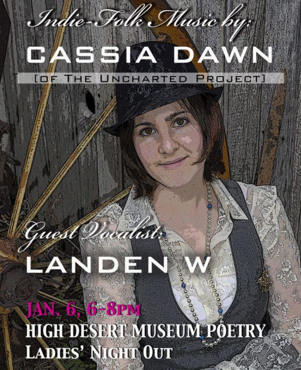 High Desert Museum Poetry Night • Jan. 6, 2017 • 6-8