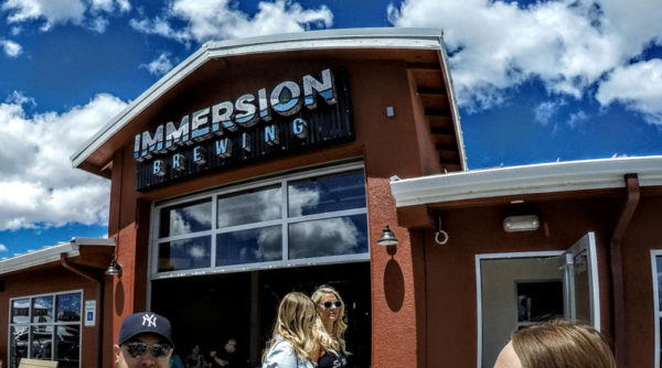 IMMERSION BREWING • Dec. 17, 2018 • 6:00pm - 8:00pm